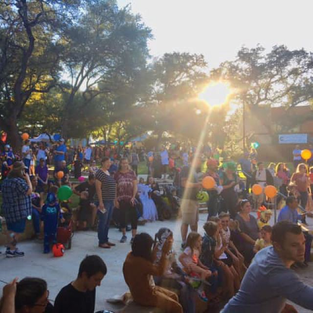 Boerne-Boo-Celebration at the PHPL Amphitheatre