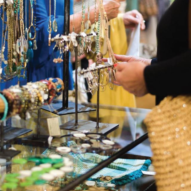 Shopping in Boerne - Jewelry at Celeste