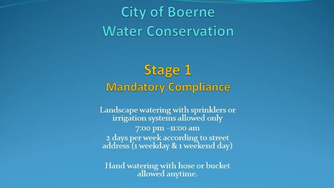 stage one water restrictions 1280 720