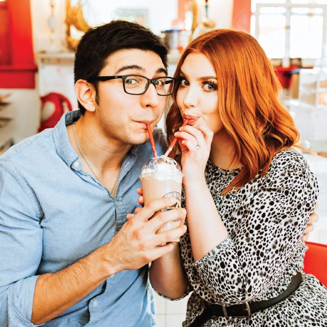 2020 - Blind Date Sipping Milkshakes by Snap Chic Photography