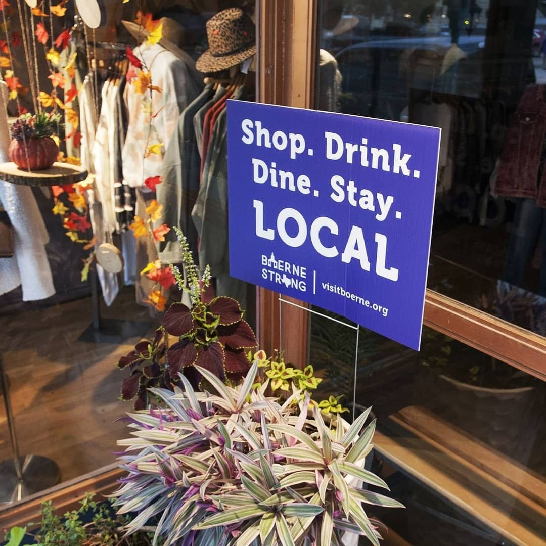 Shop. Drink. Dine. Stay LOCAL. Sign