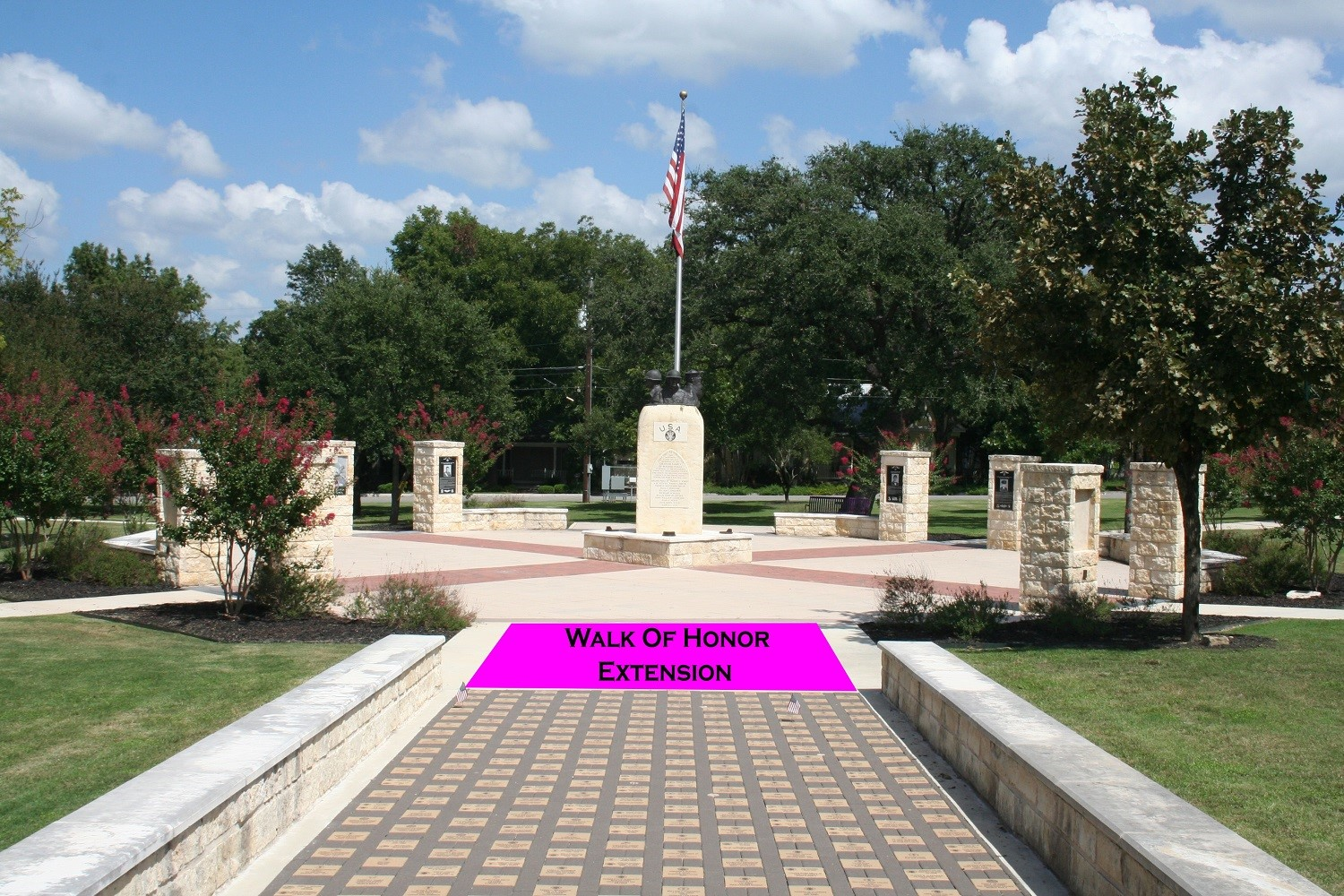 Walk of Honor Extension Pic