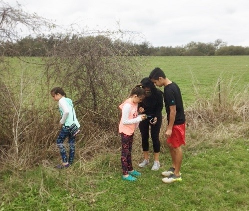 Geocaching Fun!  Join the fun by clicking the photo!
