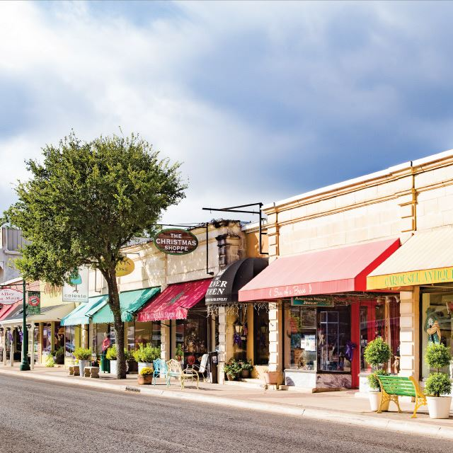 The Shops along Boerne's Hill Country Mile