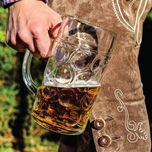 Lederhosen and Beer Pint - Oktoberfest