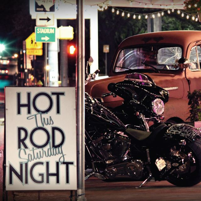 Hot Rod Night Motorcycle