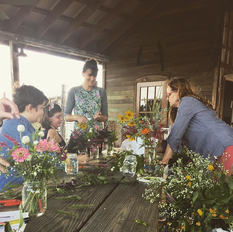 Cut Flowers Workshop at Cibolo Nature Center