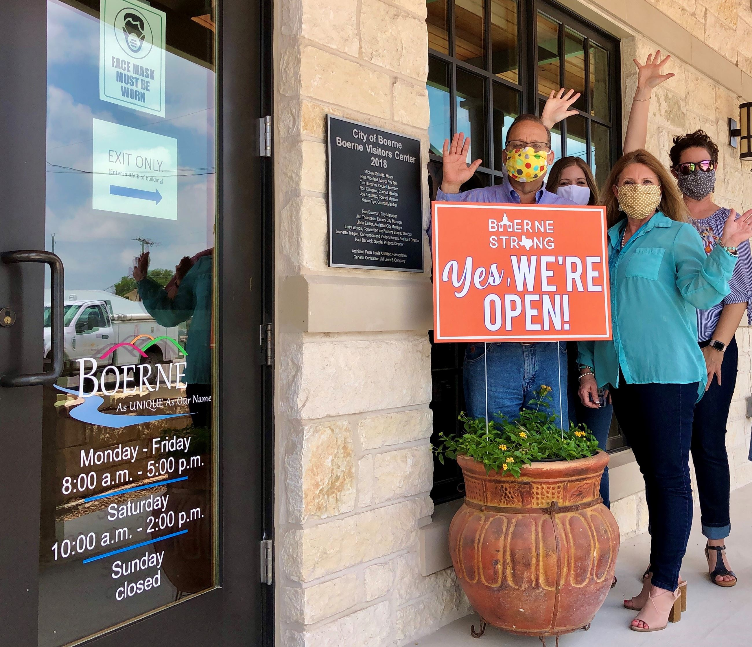 Boerne Visitors Center Staff