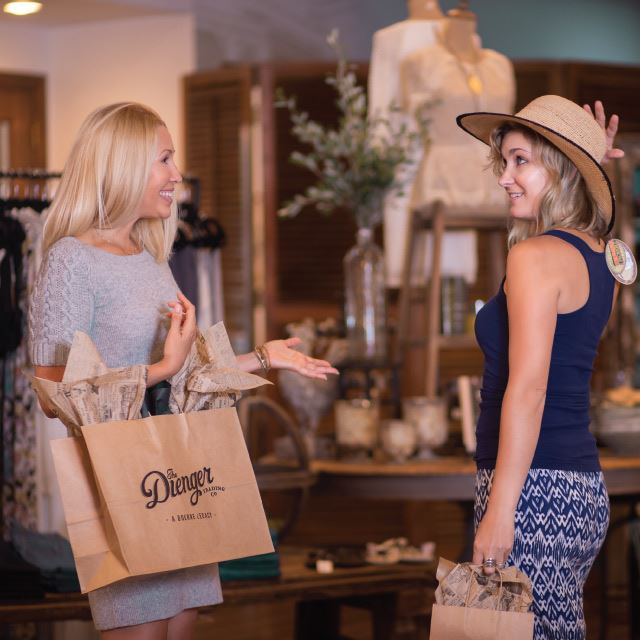 Women Shopping at The Dienger