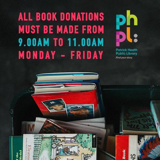 Book Donation Hours