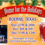 Home for the Holidays FB Event graphic